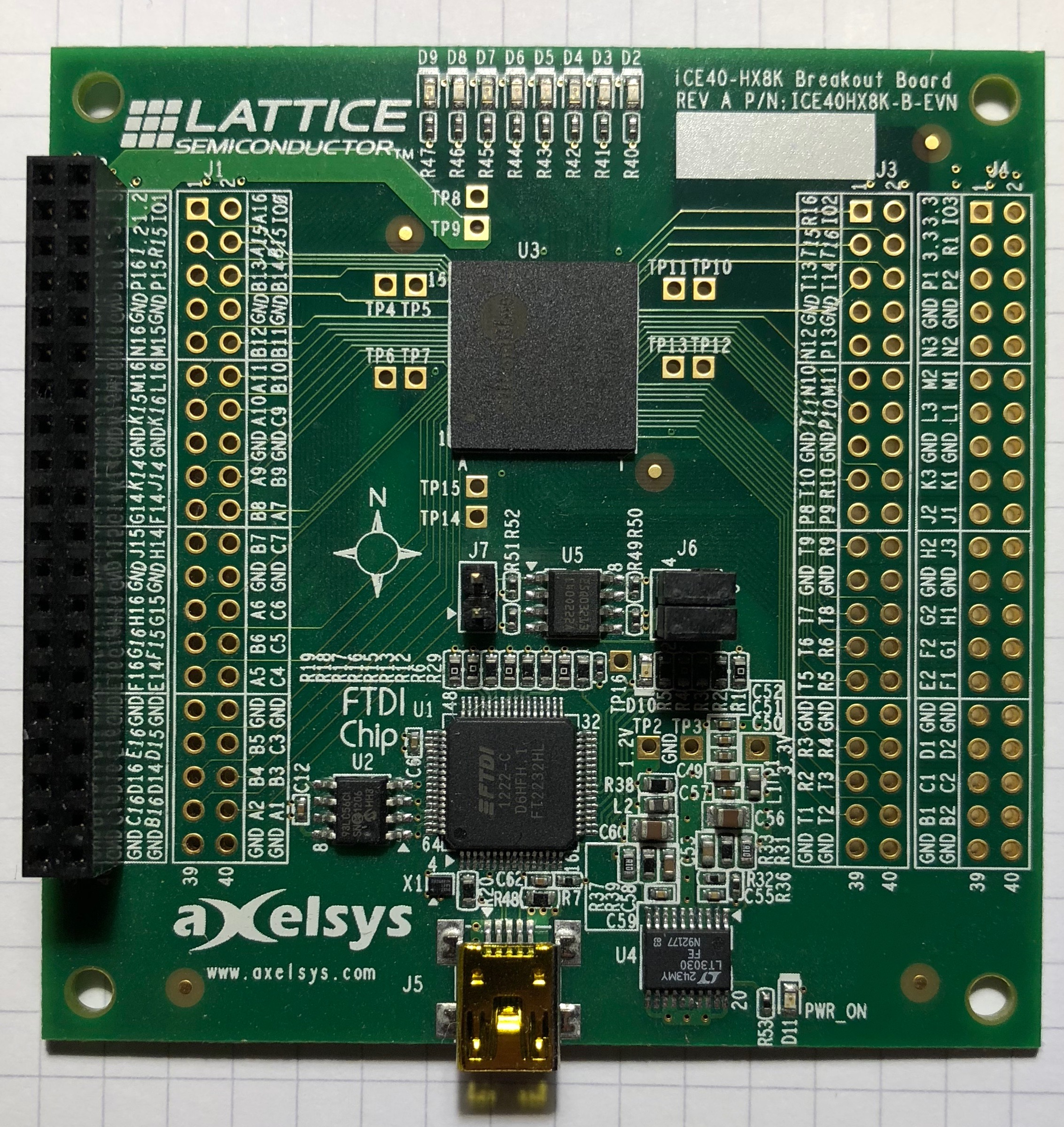 Martin's Atelier: iCE40 Blinky on HX8K Breakout